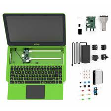 pi top green laptop v2 with raspberry pi 3 model b board and diy inventors kit pack us keyboard multi plug is included ages 14