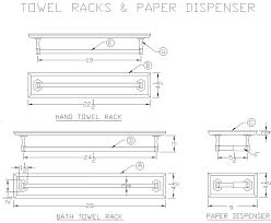 wood towel racks