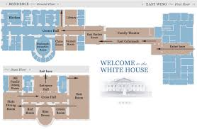 west wing office space layout circa 1990. Official White House Tour Map - East Wing Lobby, Garden Room, Colonnade West Office Space Layout Circa 1990