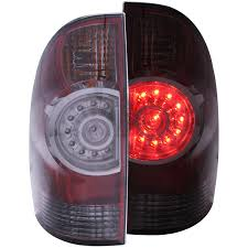 2008 Toyota Tacoma Brake Light Bulb Details About Fits 05 15 Toyota Tacoma Tail Lights Left Right Pair W Smoke Lens