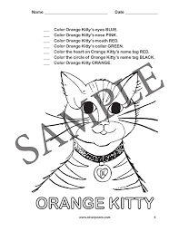 Oliver Poons Worksheets and Activities: Pre-K through Grade 2
