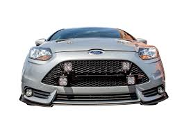 Focus St Rally Lights Front Light Plate W 4x Mounts For 2013 14 Ford Focus St Mk Iii St250 By Rally Innovations