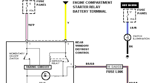 engine in a bronco wiring harness diagram automotive wiring harness diagram ford bronco tailgate heater circuit