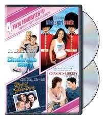 4 Film Favorites: Girls' Night Collection (A Cinderella Story / Chasing  Liberty / Sisterhood of the Traveling Pants…- Buy Online in Honduras at  honduras.desertcart.com. ProductId : 3031561.