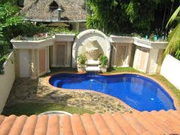 Incredible Small Backyard Ideas With Pool Small Backyard Pools Ideas