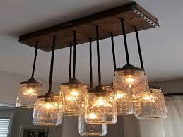 mason jar lighting fixture. Home Lighting Fixtures Awesome Mason Jar Lighting Fixtures With Wooden  Panel On Ceiling And Metal For Fixture