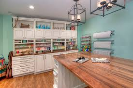 office counter tops. Art And Craft Room Ideas Home Office Traditional With White Cabinets Wood Countertops Wicker Basket Counter Tops