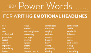 Terrific Power Words List 20 Powerful To Use In A Resume Now Just Go