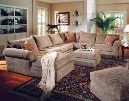 woodwest collection fabric sectional