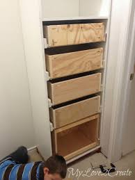 Closet Tower With Drawers Amazing Diy Master Closet Renovation Master Closet Drawers And