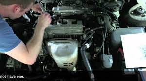 1997 toyota avalon spark plug wiring diagram vehiclepad 1997 how to replace spark plugs and wires in a toyota camry