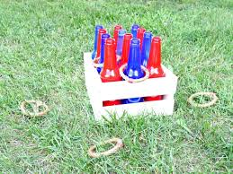 how to make a ring toss game