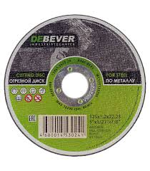 <b>Круг отрезной по металлу</b> Debever 125х22х1,2 мм — купить в ...