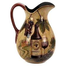 Decorative Ceramic Pitchers Buy UMA Enterprises Loft Ceramic Decorative Pitcher in Cheap Price 22