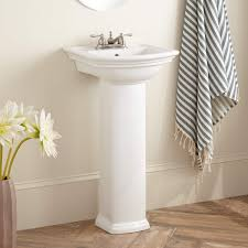 mini washington porcelain pedestal sink