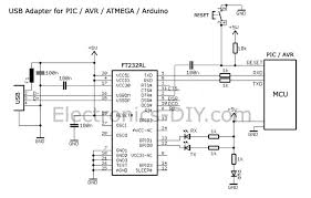 ft232rl usb to serial adapter for pic avr atmega arduino mcus