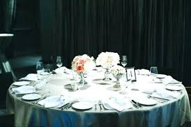 table wedding round centerpieces settings simple for tables high school