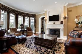 pretty mirrored furniture design ideas. This Lavishly Appointed Living Room Spreads An Array Of Rich Leather And  Dark Plus Furniture Around Pretty Mirrored Design Ideas R