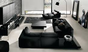 Living Room Decor With Black Leather Sofa Living Room Black Leather Living Room Set Remarkable Luxury