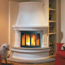 image of corner fireplace designs with built ins