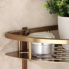 Antique Badezimmer Regalwand Raum Aluminium Stativ Badezimmer