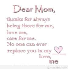 Mom Love Quotes Enchanting Dear Mom Love Quote For Mom