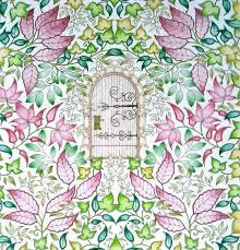 johanna basford secret garden secret garden enchanted forest colouring in within secret garden colouring book johanna