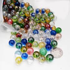 Decorative Marble Balls 100pcs Muti Color Marbles Glass Ball 100mm Classic Home Fish Tank 1