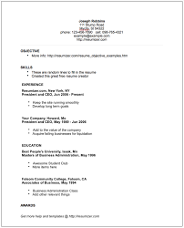 Good Resumes Templates