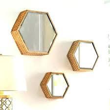 hexagon mirror tiles wall mirrors hexagon wall mirror breathtaking hexagon wall mirror hexagon wall mirror set of 3
