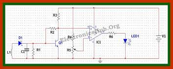 cell phone detector circuit mobile phone tracking system circuit cell phone phone detector circuit diagram