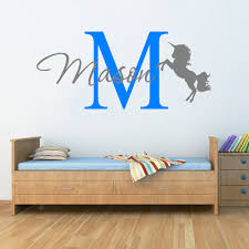 Monogram Decorations For Bedroom Online Get Cheap Mural Unicorn Aliexpresscom Alibaba Group