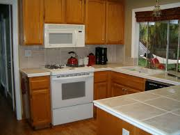 Kitchen Cabinet For Microwave Kitchen Cabinets Furniture Black Color Staining Oak Kitchen