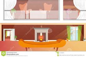 Urban Home Interior Design Urban Or Modern Home Interior Design With Fireplace And