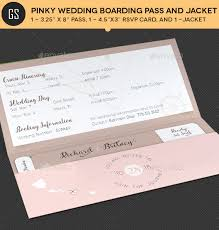 invitation t pinky wedding boarding pass invitation template by godserv