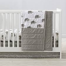 wild excursion elephant crib bedding the land of nod ciefxwv