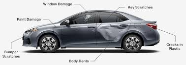 common types of damage