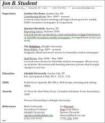 Journalism Advice How To Write A Journalism Resume Mesmerizing Journalism Resume