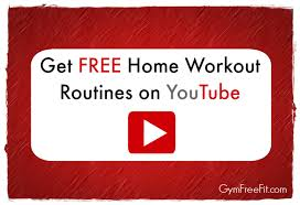 home workout routines on you