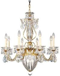 at houzz schonbek bale 11 light chandelier in heirloom gold with clear heritage crystal