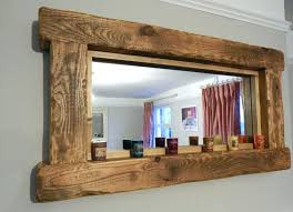 wood wall mirrors. Round Wood Wall Mirror Mirrors Decorative Wooden