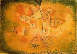 famous painting rotating house of paul klee