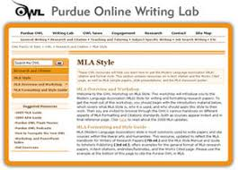 citation and bibliography help uncw randall library purdue writing labs screenshot