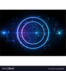 Light Digital Light Futuristic Game Center Circuit Digital