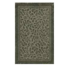 nylon bath rug in sage green