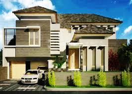 model rumah minimalis 2 lantai modern terbaru 2017 desain rumah