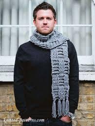 Mens Scarf Crochet Pattern New Men's Scarf Free Crochet Pattern