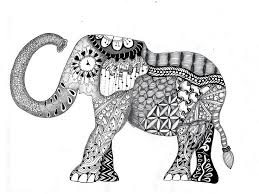 free coloring elephant coloring pages for s