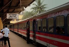 file sri lankan railways cl s11 train bound for matara at galle station sri lanka