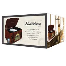 eanos502 wellington record player retro vinyl turntable stereo system electrohome